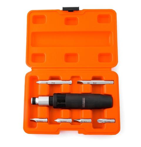 Destornillador Impacto Profesional Hamilton Kit Atornillador Cod. Dmp Dgm