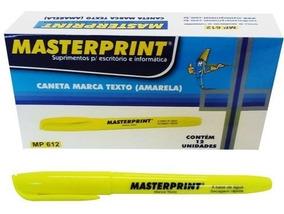 1 Caixa De Marca Texto Masterprint- Caixa Com 12 Unidades