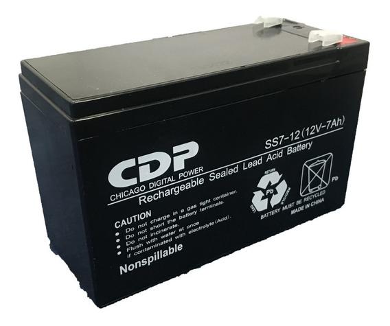 Bateria Para Ups Marca Cdp 12v / 7.0ah Agm Recargable