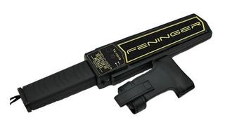 Detector Metales Seguridad Vigilancia Scanner Portatil Vibra