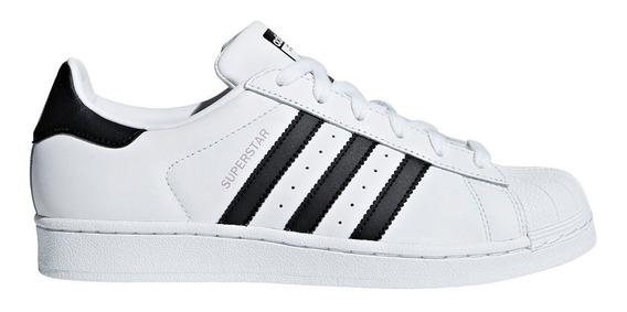Zapatillas adidas Originals Superstar Bla/neg De Mujer