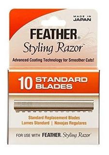 Jatai Feather Styling Razor Cuchillas De Repuesto