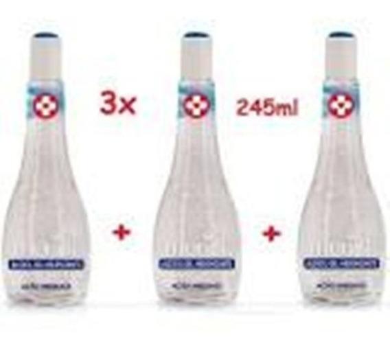 Álcool Gel Higienizante 70º Muriel 245ml Kit 03 Un