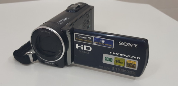 Câmera Filmadora Sony Handycam Hdr-cx150