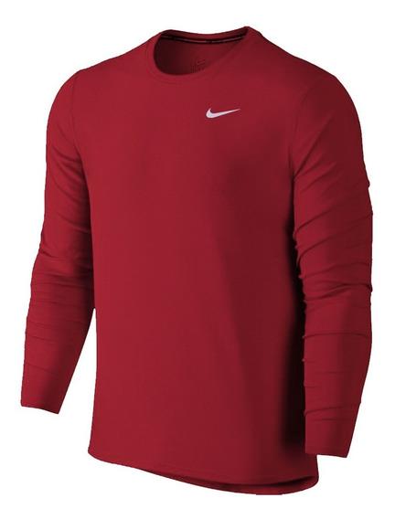 Sueter De Caballero Dri-fit Nike Unicolor Sudadera