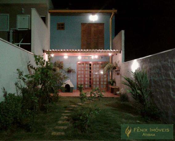 Sobrado Com 3 Dorms, Jardim Brogotá, Atibaia - R$ 400.000,00, 120m² - Codigo: 406 - V406