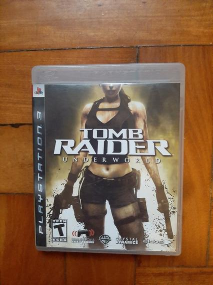 Tomb Raider Underworld - Ps3 Cd Playstation Import