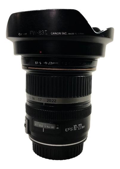 Lente Canon Ef-s 10-22mm F/3.5-4.5 Usm Seminova C/ Garantia