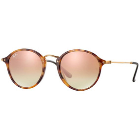 c1e202168 Rayban Round Fleck - Óculos De Sol Ray-Ban Round no Mercado Livre Brasil
