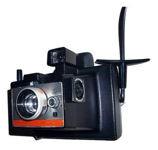 Antiga Polaroid Colorpack 80 Land Camera Com Caixa E Flash