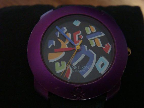 Reloj Benetton By Bulova. Dial Purpura. Colección 90s.