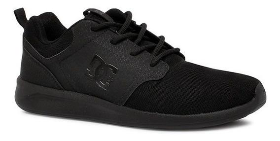 Tênis Dc Shoes Midway Sn Adys700096l Preto