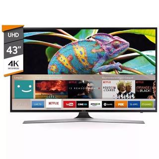 Smart Tv 4k 43 Samsung Uhd Netflix 43mu6100 Envio Gratis