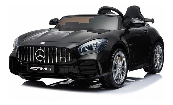 Auto A Bateria Mercedes Benz Amg Negro R/c High Quality