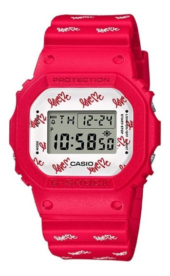 Reloj Casio G-shock Edicion Limitada Love Me Dw-5600lh-4cr