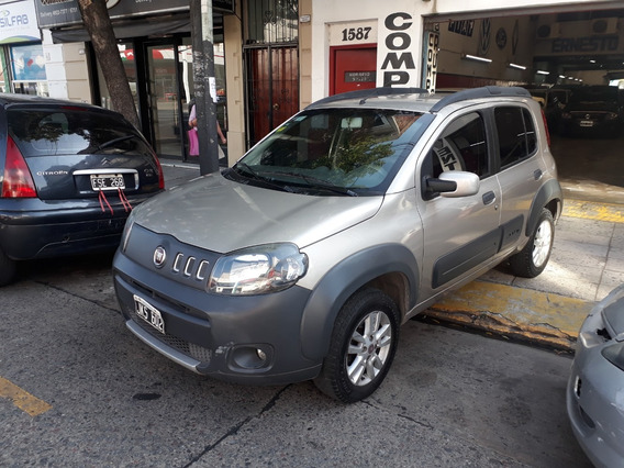 Fiat Uno Way 1.4 2010 Full Con Gnc