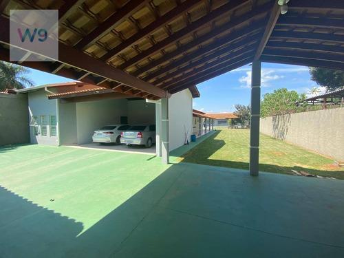Chácara Com 4 Dormitórios À Venda, 1000 M² Por R$ 860.000 - Jardim Nossa Senhora Salete - Araçoiaba Da Serra/sp - Ch0001