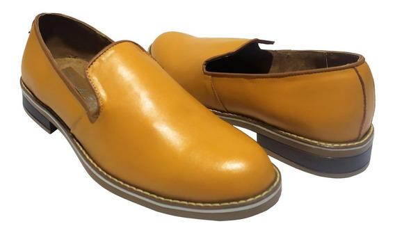 Zapato Casual Para Hombre Tirreli 4201 Piel