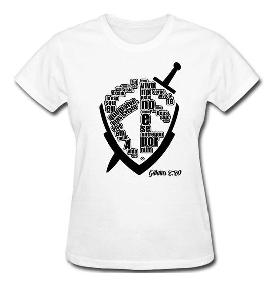 Blusa Evangélica Camiseta Gospel Frases Da Bíblia *promoção