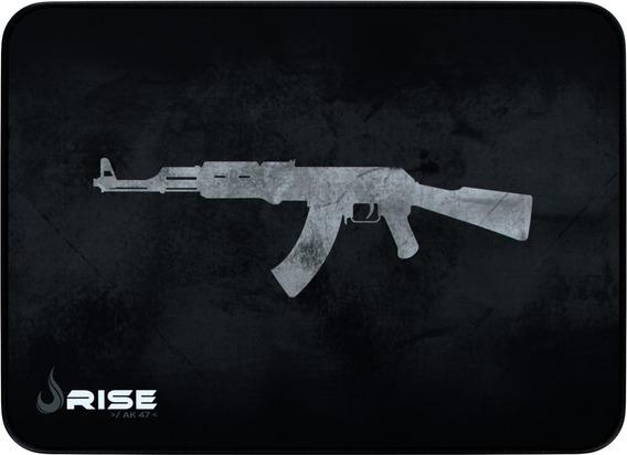 Mousepad Rise Mode Gamer Ak 47 - M - Costurado Rg-mp-04-ak