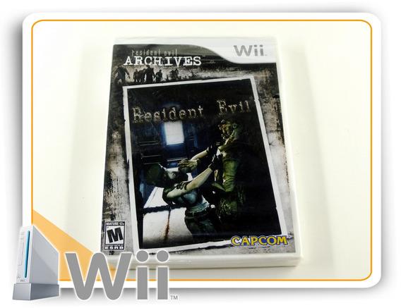 Resident Evil Archives Original Nintendo Wii Novo