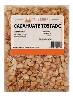Cacahuate Natural Tostado Y Pelado 1 Kilogramo