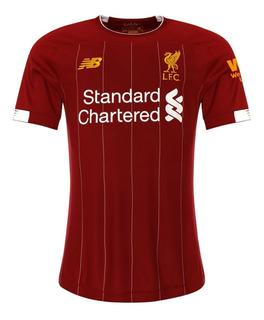 Camisa Liverpool Home 19-20 Nova ( Pronta Entrega )