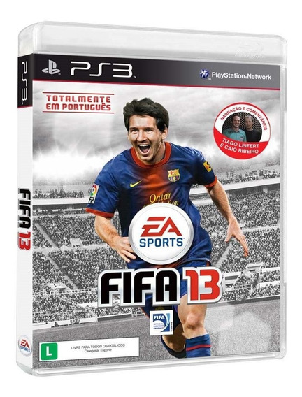 Game Fifa 13 - Ps3- Portugues