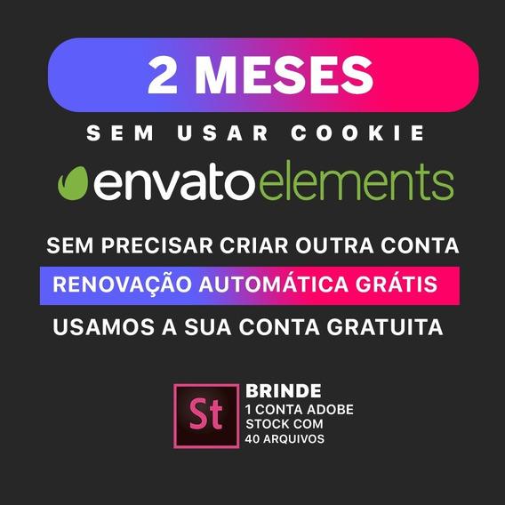 1 Mês De Envato Elements - Site Completo   Pague Em Reais