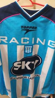 Camisa De Futebol Do Racing Club De Avellaneda