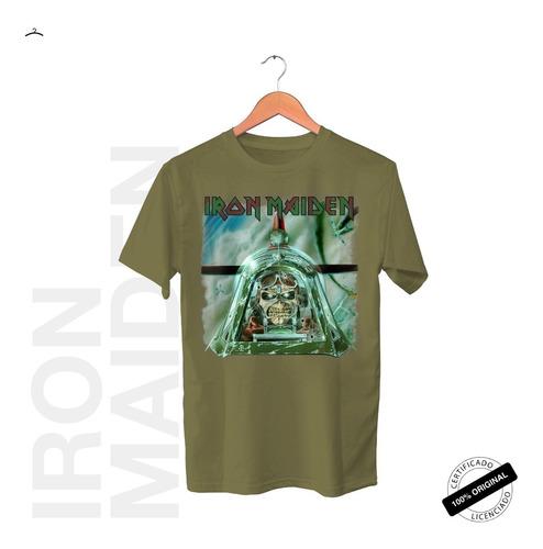 Camiseta Oficial Iron Maiden Aces High Tour 2019