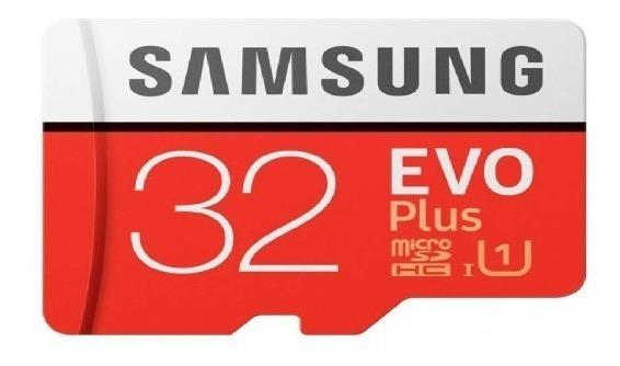 Micro Sdhc Samsung Evo Plus 32gb C10 U1 95mb/s