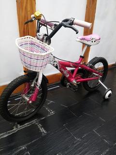 Hermosa Bicicleta Rodado 16 !!