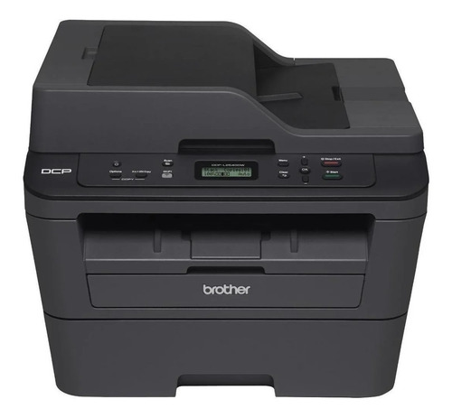 Impressora multifuncional Brother DCP-L2540DW com wifi 110V preta