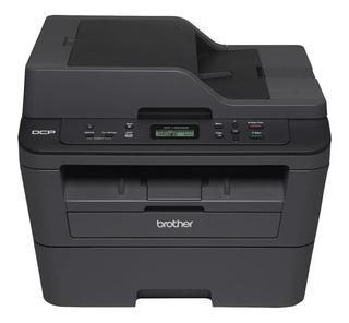 Impressora multifuncional Brother DCP-L2 Series DCP-L2540DW com wifi 110V preta