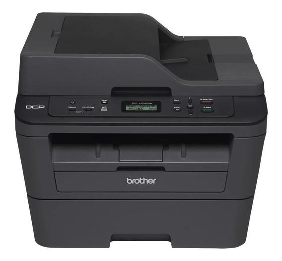 Impressora multifuncional Brother DCP-L2 Series DCP-L2540DW com Wi-Fi 110V preta