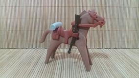 Lote 5116 - Cavalo Marrom Médio - Montarias Do Velho Oeste