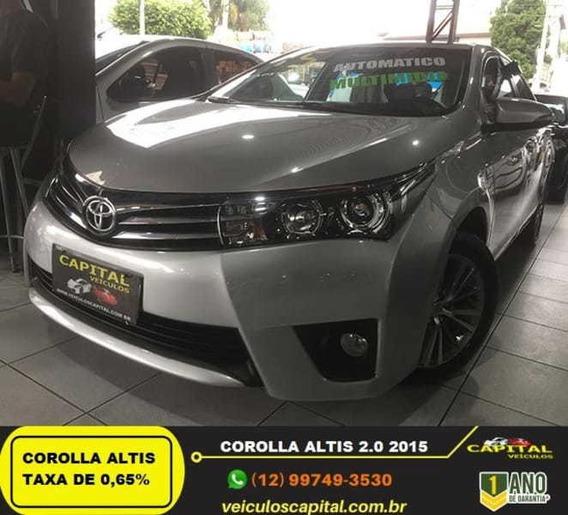 Toyota Corolla Sedan Altis 2.0 16v (aut) (flex) 2015