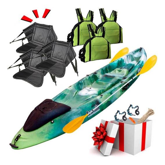 Kayak Famili Triple Premium + Tambucho Samoa Tienda Oficial