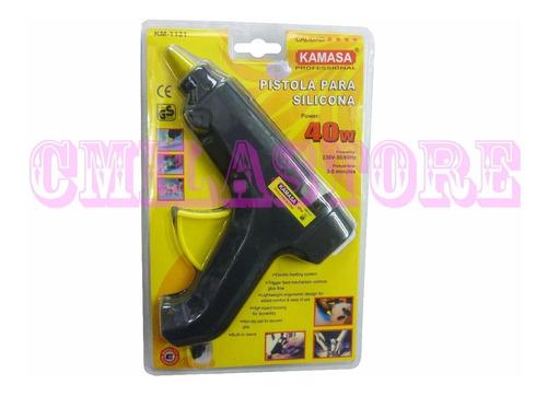 Pistola Para Silicona Kamasa 40w Manualidades Doméstico