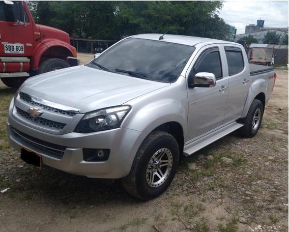 Chevrolet Dmax Motor 2.5 Diesel 4x4 2015 Gris Full Equipo