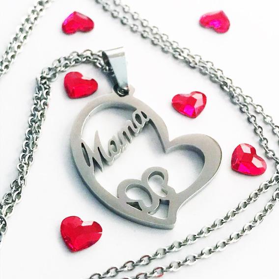 Collar Con Dije Dia De Las Madres O Regalo Para Mamá