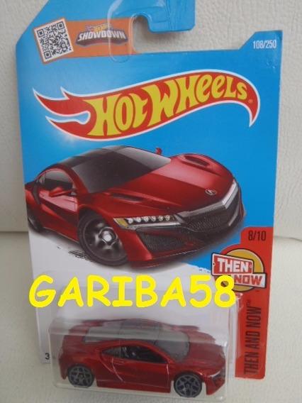 R$18 No Lote Hot Wheels ´17 Acura Nsx 2016 Gariba58