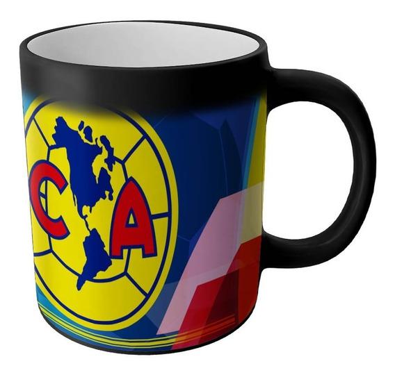 Taza Magica Club America Aguilas Productos Futbol Mexicano Articulos Regalos Cosas Accesorios Taza Sublimada
