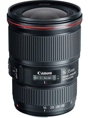 Imagem 1 de 3 de Mlb - Lente Canon Ef 16-35mm F/4l Is Usm* -