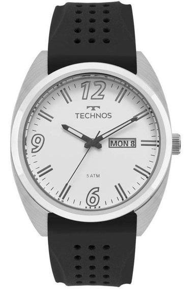 Relógio Masculino Technos Performance 2305aw/1k Prata/preto