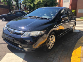 Honda Civic 1.8 Exs At 2007 Negro Dissano
