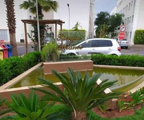 Imagem 1 de 12 de Apartamento Com 2 Dormitórios À Venda, 48 M² Por R$ 180.000,00 - Jardim Terramérica I - Americana/sp - Ap1220