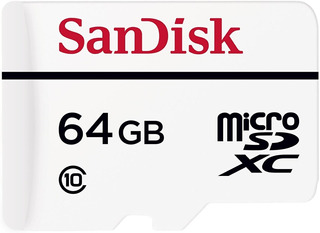 Sandisk Memoria Micro Sd High Endurance 64gb Clase 10 4k