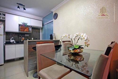 Imagem 1 de 13 de Apartamento Com 2 Dormitórios À Venda, 43 M² Por R$ 175.000 - Ap3698